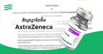 สัญญาจัดซื้อ AstraZeneca
